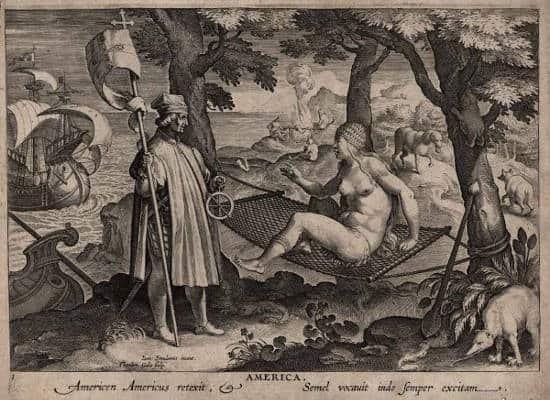 C. Colomb découvre le hamac