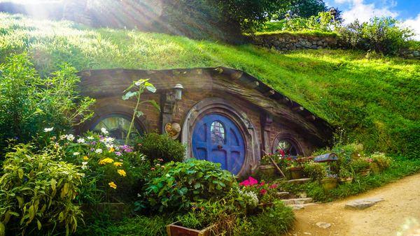 Maison de hobbit, le comble de l'isolation économique