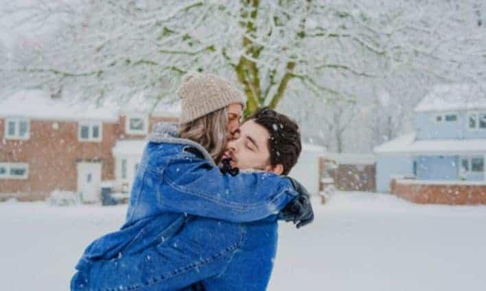 Couple en hiver