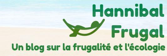 Hamac devant une plage, texte HannibalFrugal