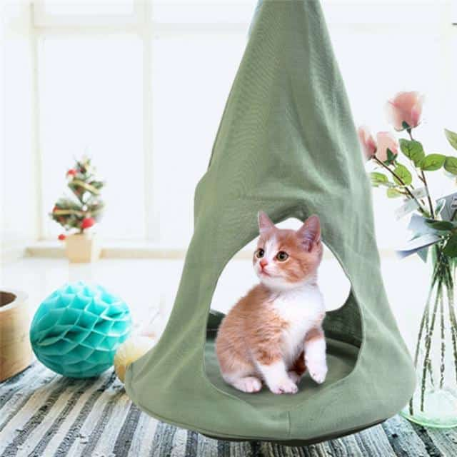 8 hamacs pour chat qui vous donneront envie d'être réincarné en chat 2